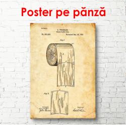 Poster, Schița de hârtie igienică
