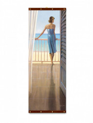Roll-up, Pe balcon la malul mării