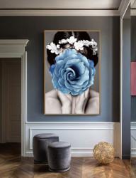 Tablou, Trandafir albastru