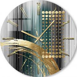 Ceas de perete, Abstracție în linii