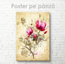 Poster, Buchet de flori de primăvară