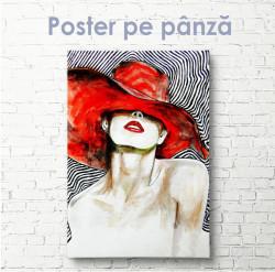 Poster, Doamna expresivă