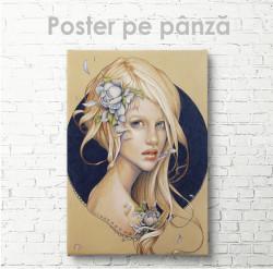 Poster, Fată drăguță