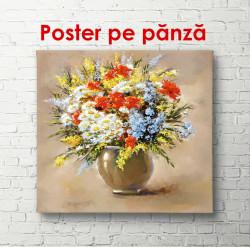 Poster, Ghiveci de flori de primăvară