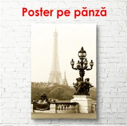 Poster, Parisul la răsărit