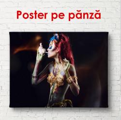 Poster, Poster, Fata cu păr roșu