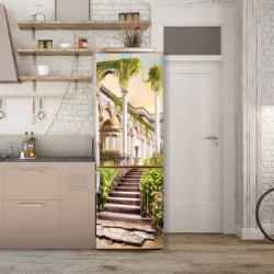 Stickere 3D pentru uși, Curtea palatului, 1 foaie de 80 x 200 cm
