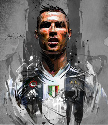 Tablou, Cristiano Ronaldo