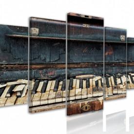 Tablou modular, Pian vechi