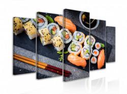 Tablou modular, Set Sushi