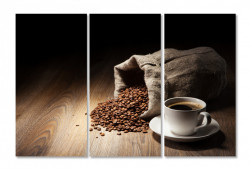 Multicanvas, O seară cu cafea.