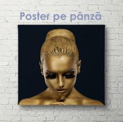 Poster, Fata de aur