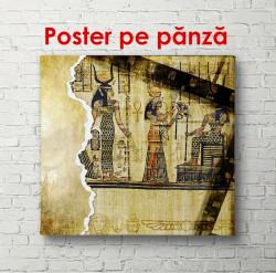 Poster, Fotografia antică a egiptenilor