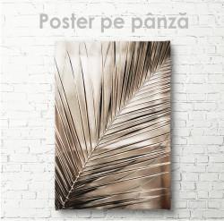Poster, Frunza de palmier aurie