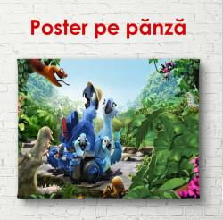 Poster, Personaje de desene animate din Rio
