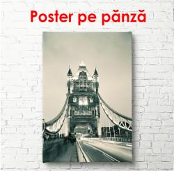 Poster, Podul alb-negru