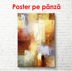 Poster, Textură abstractă maro multicoloră