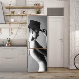 Stickere 3D pentru uși, Nuditatea femeii, 1 foaie de 80 x 200 cm