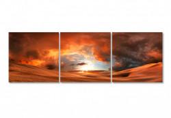 Tablou modular, Cerul arzător peste deșert