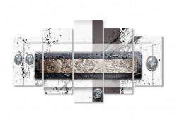 Tablou modular, Fantezie în nuanțe de maro