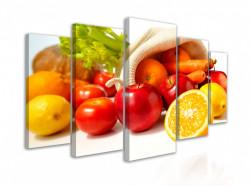 Tablou modular, Fructe si legume