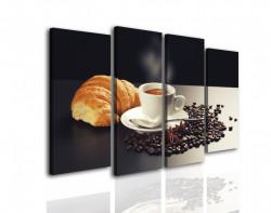Tablou modular, Micul dejun franțuzesc.