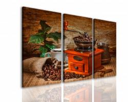 Tablou modular, Set pentru iubitorii de cafea