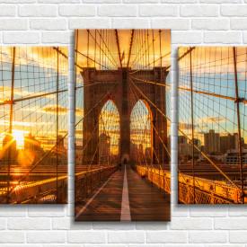 Multicanvas, Brooklyn Bridge