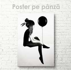 Poster, Balonul negru