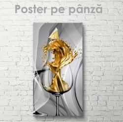Poster, Cocktail de aur
