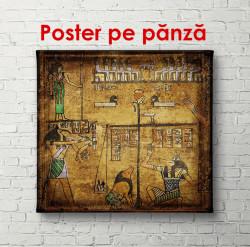Poster, Imagini retro egiptene