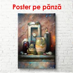 Poster, Pictură cu ulcioare vechi
