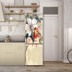 Stickere 3D pentru uși, Armonia culorilor, 1 foaie de 80 x 200 cm