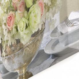 Tablou modular, Buchetul frumos de primăvară pe masă