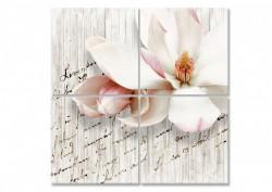 Tablou modular, Floare delicată