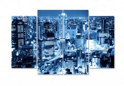 Tablou modular, Orașul în noapte