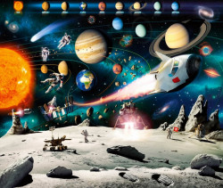 Tablou modular, Spațiul cosmic