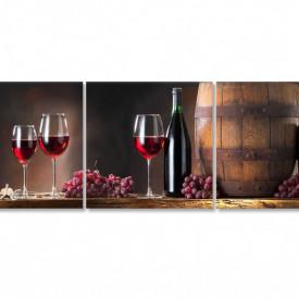 Tablou modular, Vinul - o comoară.