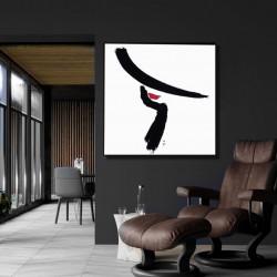 Tablou, Portret minimalist