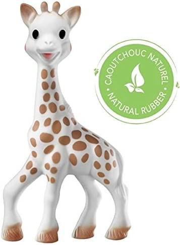 Vulli Girafa Sophie si saculet de transport