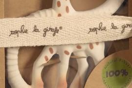 Inel Dentitie Sophie So Pure Cauciuc Natural, Very Soft Vulli