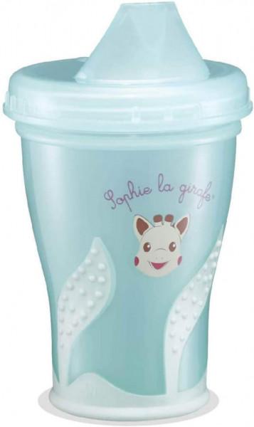 Pahar anti-curgere 200 ml Girafa Sophie