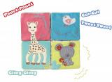 Cuburi educative din plus Vulli girafa Sophie - Resigilat