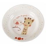 Set pentru masa melamina Girafa Sophie & Kiwi cutie cadou