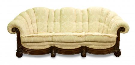 Canapea cu 3 locuri din lemn masiv MRFC-3
