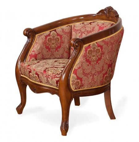 Fotoliu din lemn masiv cu tapiterie eleganta, comod si rezistent MRFC-13