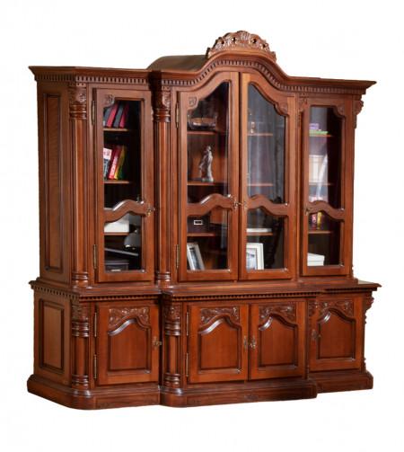 Biblioteca cu 4 usi living MDBI-9