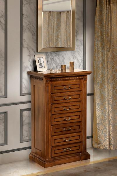Casetiera 7 sertare cu elemenete ornamentale MDDU-26