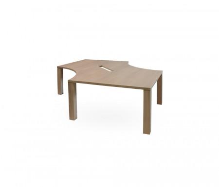 Masa pentru birou din lemn masiv MBMB-1