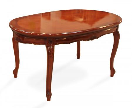 Masuta ovala din lemn masiv MAMC-14